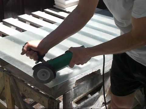 Cut Safety Glass With Diamond Blade Youtube