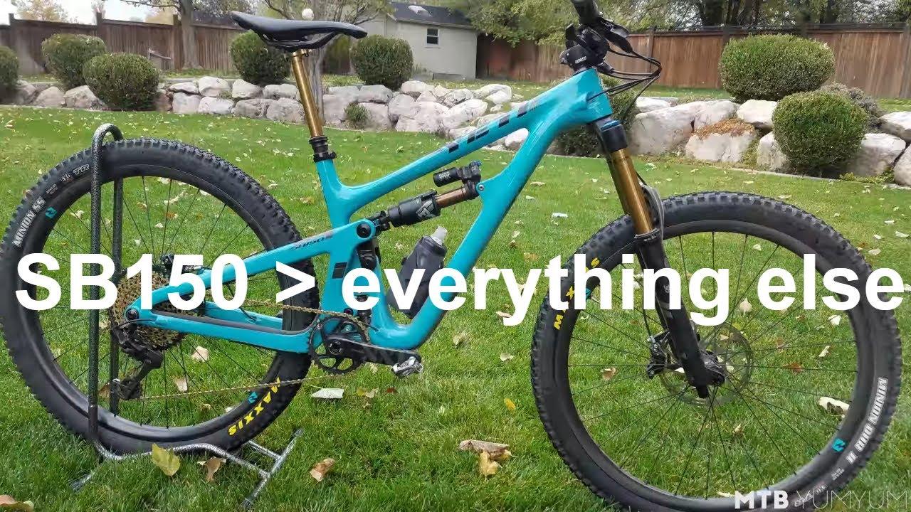 a665fabf1 2019 Yeti Cycles SB150 Test Ride   Review. MTB yumyum