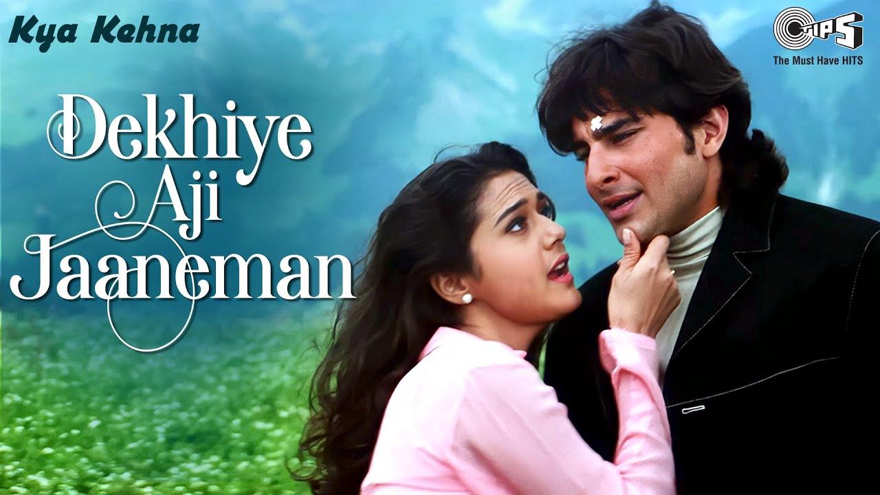 Download Dekhiye Aji Jaaneman - Video Song | Kya Kehna | Saif Ali Khan & Preity Zinta | Rajesh Roshan