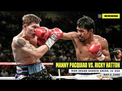FULL FIGHT | Manny Pacquiao Vs. Ricky Hatton (DAZN REWIND)