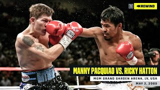 FULL FIGHT | Manny Pacquiao vs. Ricky Hatton (DAZN REWIND)