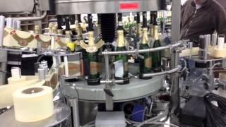 Самоклеющиеся этикетки на шампанском