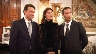 S.A.R. Carolina di Monaco a Genova consegna la donazione all