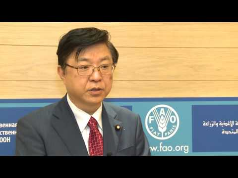 Remarks By Japan's State Minister Of Agriculture, Forestry And Fisheries