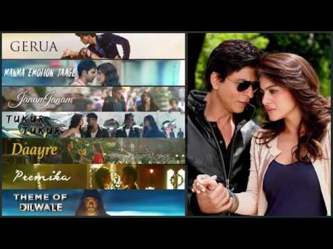Dilwale Jukebox   Shah Rukh Khan  Kajol  Varun Dhawan  Kriti Sanon 2016 rock...mahadi@