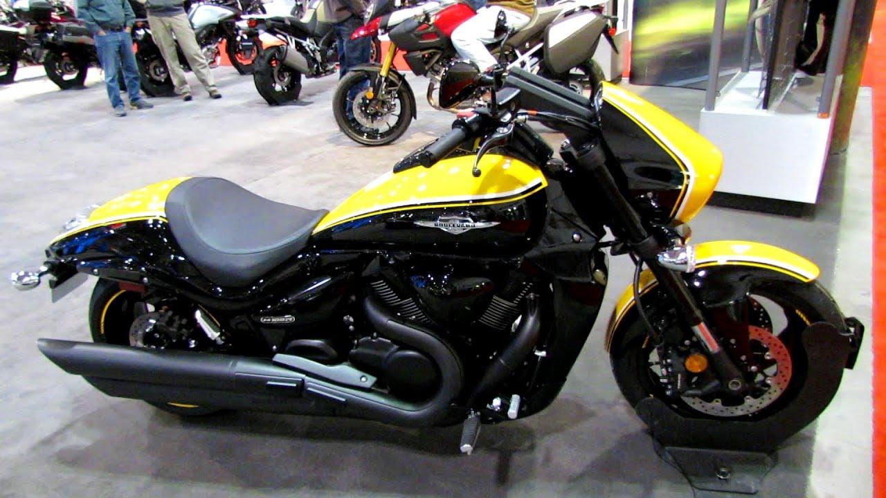 Suzuki Intruder Boulevard Motorrad Bild Idee Forward Controls 700 2014 M109r Walkaround Toronto Motorcyle