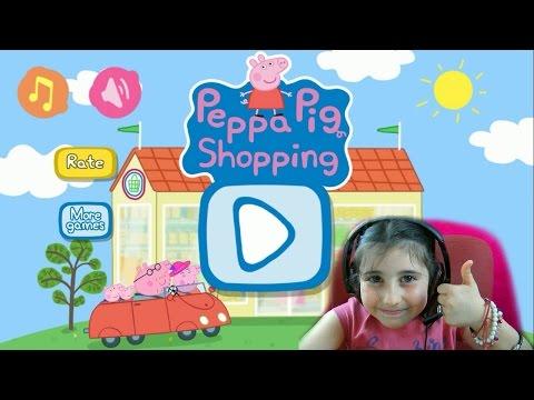 Peppa Pig Shopping App Gameplay