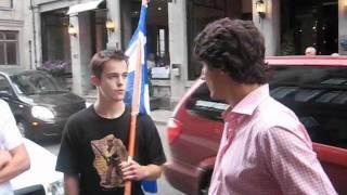 Le RRQ rencontre Justin Trudeau CAMÉRA: FRANÇOIS THERRIEN