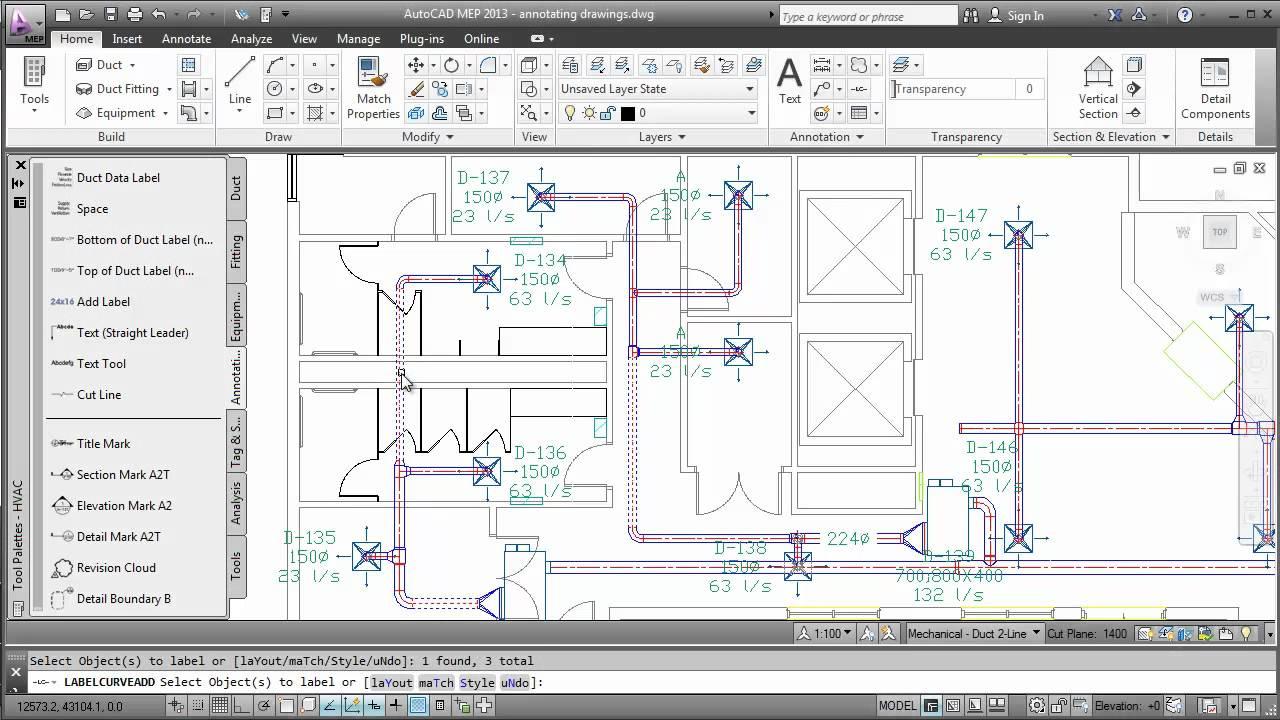 medium resolution of annotating drawings autocad mep 2013