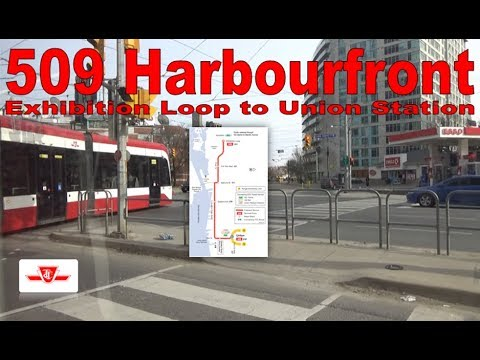509 Harbourfront - TTC 2016 Bombardier Flexity Outlook 4426 (Exhibition Loop to Union Station)