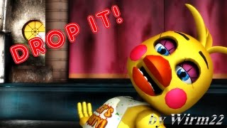 [MMD FNAF] Toy Chica - Drop it! - Smashing!