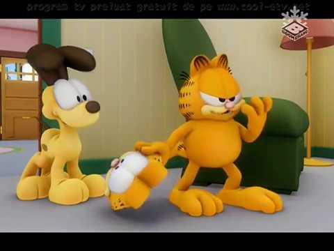 The Garfield Show | Garfield Își Pierde Mințile/Tristețe de Motan Negru(Română)