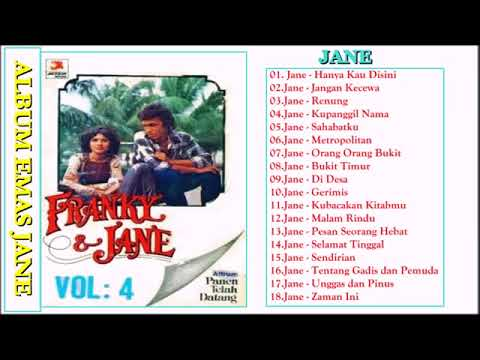 Franky & Jane Full Album Tembang Kenangan  Lagu Lawas Legendaris Nostalgia 80-90an Indonesia Terbaik