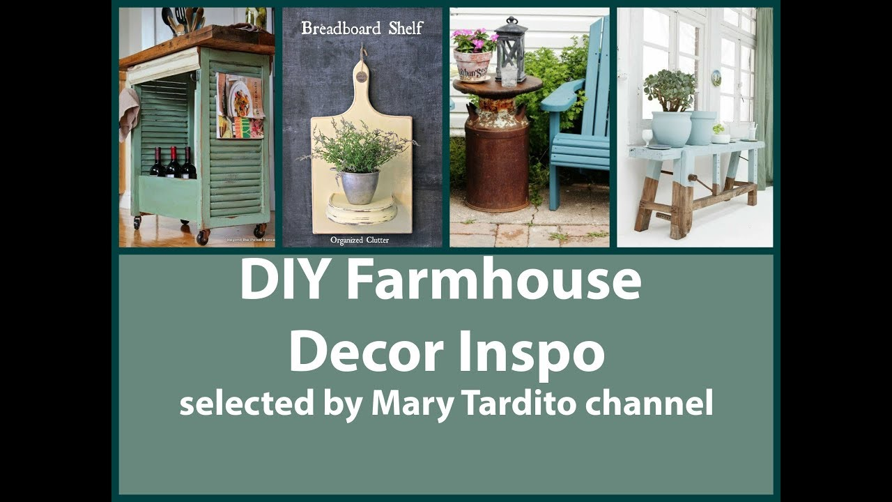 Home Decor Project Youtube: DIY Farmhouse Decor Projects