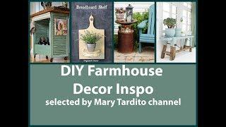 DIY Farmhouse Decor Projects - Farmhouse Rustic Home Decor