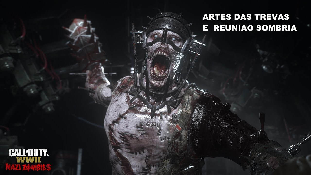 Call of Duty: WWII - Guia Trofeu Reunião sombria,Artes das trevas