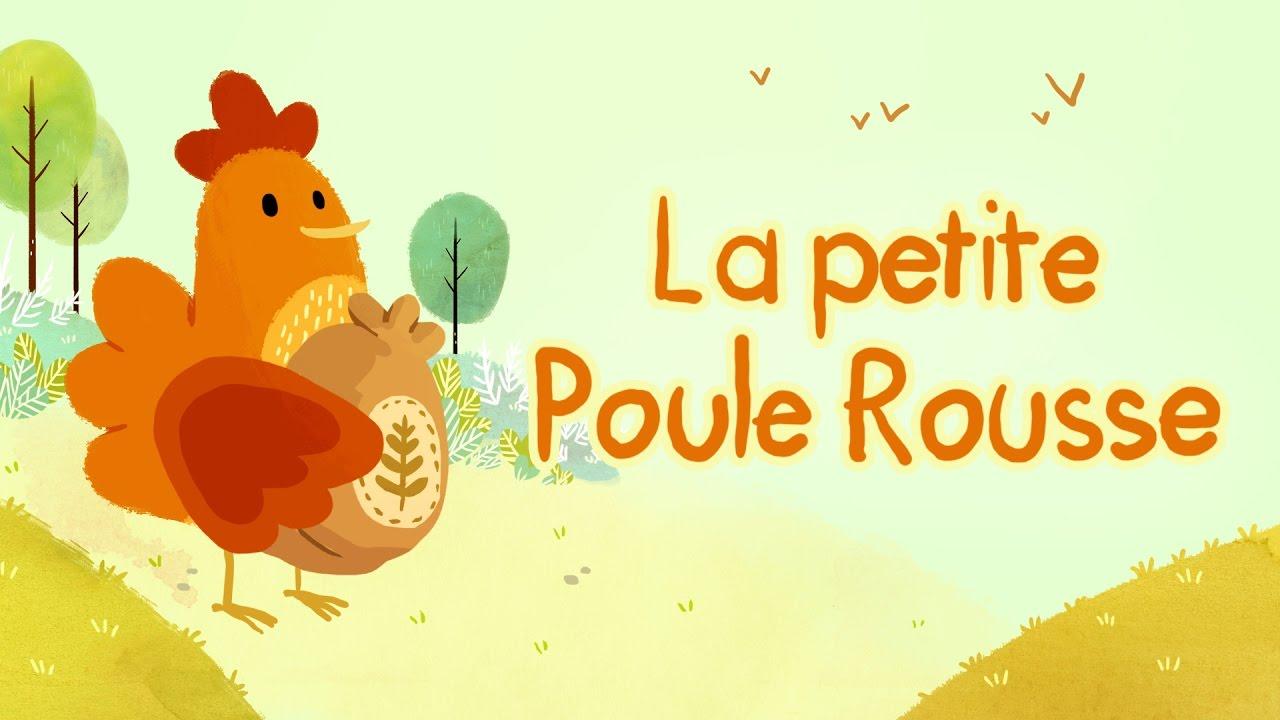 Dessin Animé Poule la petite poule rousse - youtube