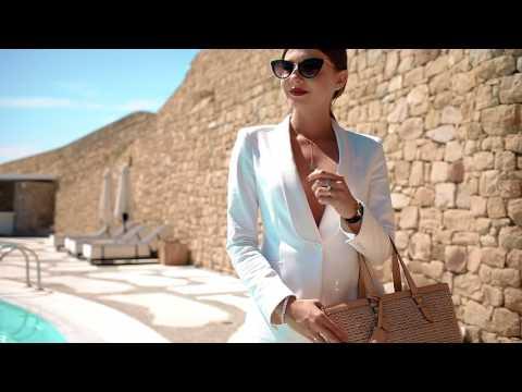 Larisa Costea for Anna Cori in Mykonos