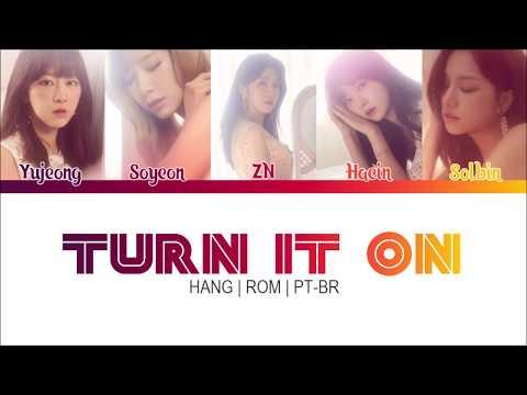 "LABOUM (라붐) ""Turn It On"" 불을 켜 (Han|Rom|PT-BR) Color Coded Lyrics"
