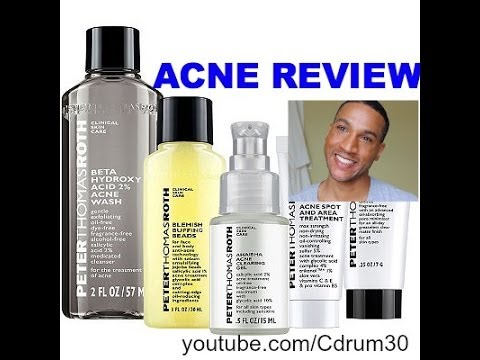 Peter Thomas Roth Acne Product Review