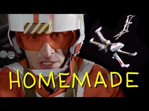 "Star Wars – ""Death Star Trench Run"" – Homemade w/ Chris Hardwick from Nerdist"