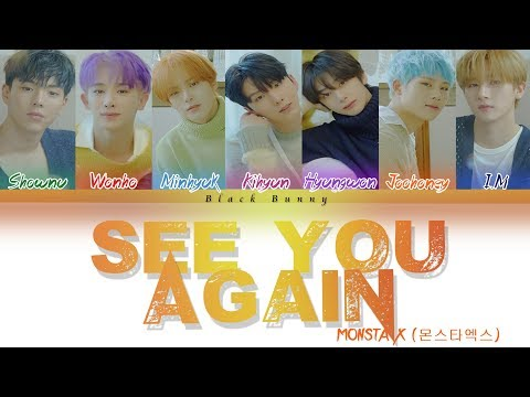 MONSTA X (몬스타엑스) – See You Again (Color Coded Lyrics Han/Rom/Eng/가사)