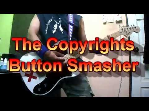 The Copyrights - Button Smasher (Guitar Cover)