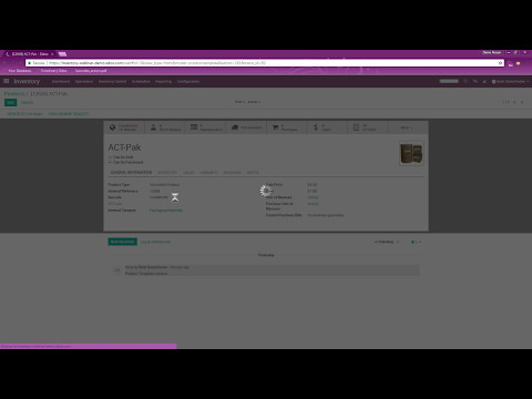 Odoo Inventory - Functional Warehouse Management