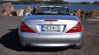 Tori.fi:n käytetyn koeajossa Mercedes-Benz SL500