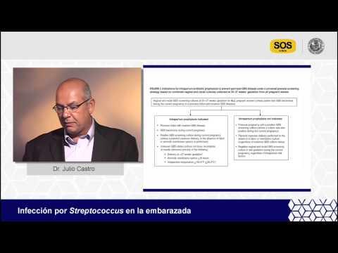 Infección por Streptococcus en la embarazada. Ponencia del Dr. Julio Castro