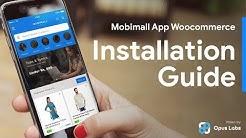 Android Woocoomerce App Installation + iOS Woocommerce App Installation -MobiMall Guide   IONIC