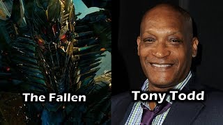 Characters and Voice Actors - Transformers Revenge of The Fallen