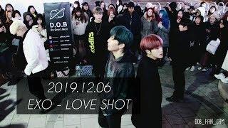 [DOB_디오비] 191206 홍대공연 2차 / EXO…