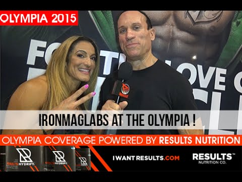 IronMagLabs Booth At The 2015 Mr. Olympia Expo!