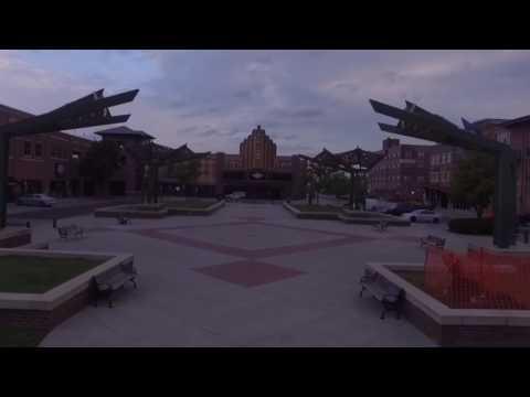 Wichita, Kansas - Downtown - Drone