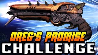 DREG'S PROMISE ONLY CHALLENGE!!!  6 Dreg's Potatoes Only In Clash!!! (FUNNY DESTINY GUN CHALLENGE)