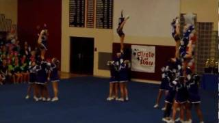 Lynhurst 7th & 8th Learning Center Competition Cheer @ Brebeuf 1/29/12
