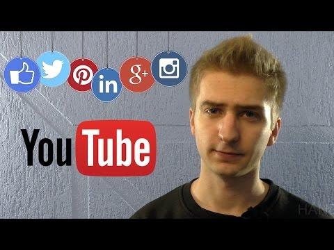 Продвижение канала YouTube в социальных сетях