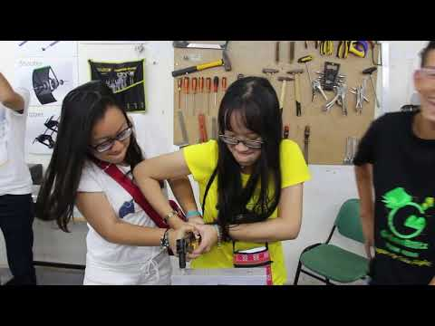 #InspiredByGreenBlitz The Second Robotics Summer Camp for students from Vietnam and Hong Kong