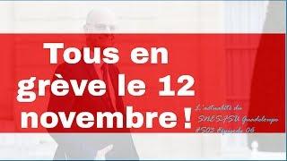 Tous en grève le 12 novembre !