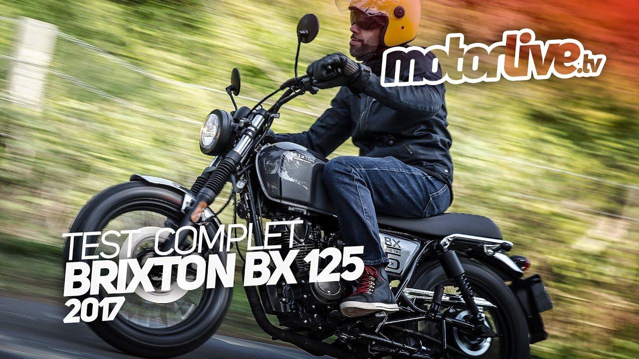 Brixton Bx 125 2017 Test Complet