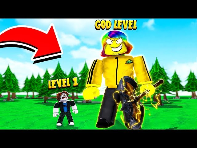 I Became a GOD TITAN with 1,000,000,000 POWER.. (Roblox)