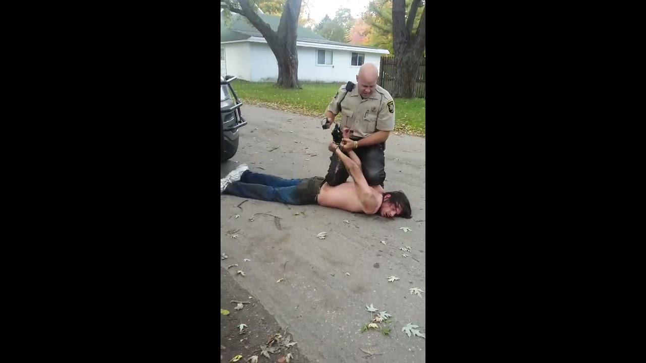 Michigan allegan county burnips - Allegan County Michigan Police Brutality By Deputy Buete On A Mentally Disabled Travis Dee Brimhall