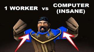 New World Record: 1 worker vs Insane Computer