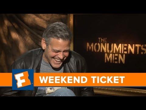 The Monuments Men, The Lego Movie: George Clooney - Week of 2/3/14   Weekend Ticket   FandangoMovies