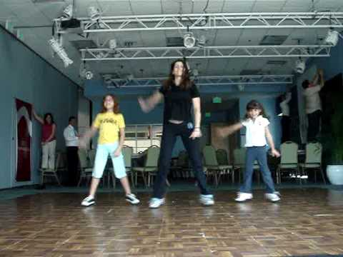 El Impacto ft Fergie - Zumbatomic Zumba Kids Dance Fitness Choreography by Tania Amthor