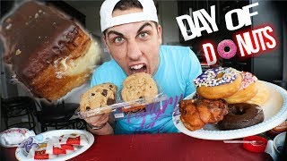 Epic Eats Ep. 2| 13,000 Calorie Donut Cheat Day