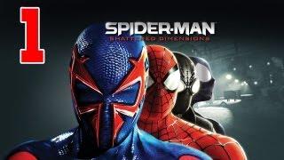 Let´s Play Spider-Man Shattered Dimensions Gameplay Deutsch - Part 1 - 4 Spider Männer