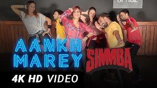 Aankh Maarey Remix   BOLLYWOOD Dance Fitness Choreography by Vijaya Tupurani   SIMMBA