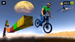 IMPOSSIBLE BMX BICYCLE STUNTS GAME #3 - Android GamePlay FHD - Cycle Stunts Games - Cycle Wala Game